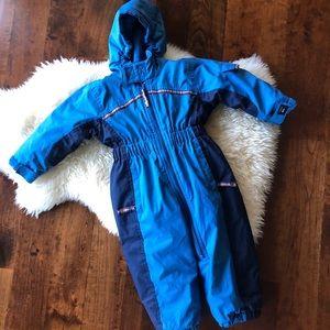 REI blue snowsuit sz 18m